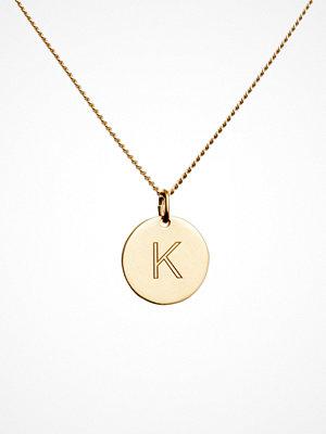 Blue Billie smycke Letter Pendant K