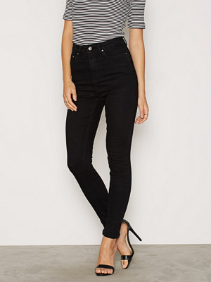 NLY Trend Superstretch High W Denim Svart