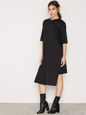 BACK T-shirt Dress Black