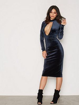 Glamorous Cut Out Velvet Dress