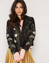 Topshop Rhi Leather Biker 8