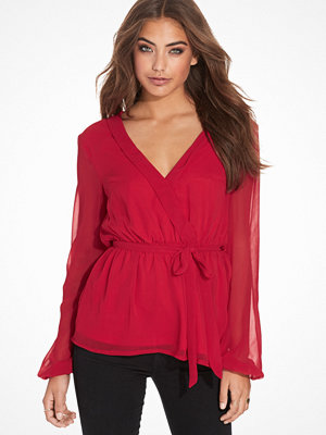 NLY Trend Like The Wind Blouse Röd