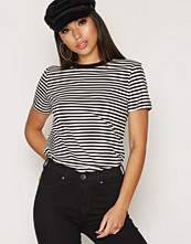Selected Femme SLFMY PERFECT SS TEE BOX CUT-STRI.