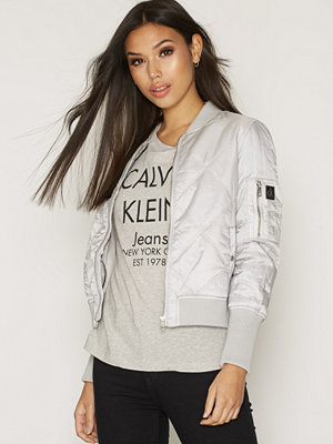 Calvin Klein Jeans Opal Quilted Bomber Vapor Blue