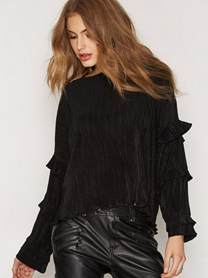 Skjortor - NLY Trend Party Frill Blouse