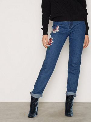 Glamorous Butterfly Jeans Indigo