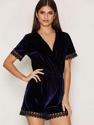 Glamorous Velvet Playsuit