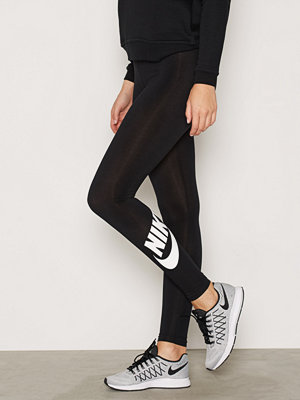 Leggings & tights - Nike W Nsw Leg A See Legging Logo Svart