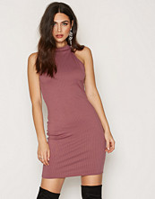 NLY One Polo Rib Mini Dress