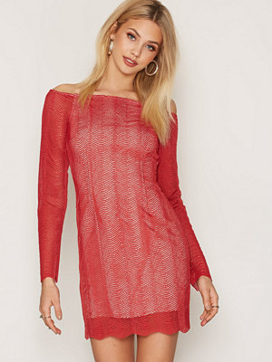 Keepsake ThinkTwice L/S Lace Dress