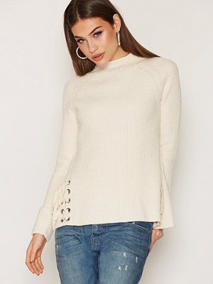 French Connection LS High Neck Fringe Knit