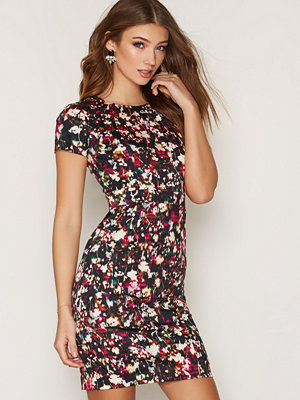 French Connection Midnight Bloom Cotton Dress
