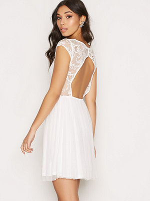 NLY One Follow Me Lace Dress Vit