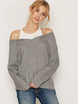 T By Alexander Wang Merino V-neck Sweater