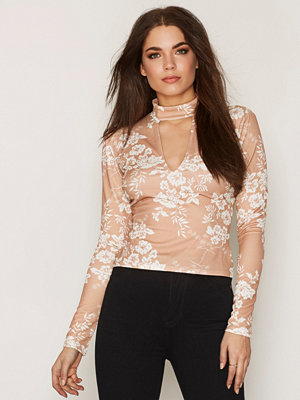 NLY One Choker Print Top