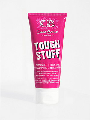 Solning - Cocoa Brown Tough Stuff Body Scrub 200 ml Transparent