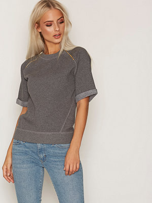 Hunkydory Leah Fleece Grey Melange