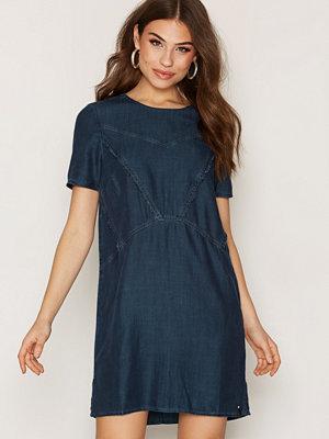 Calvin Klein Jeans Daria RN S/S Tencel Dress Indigo