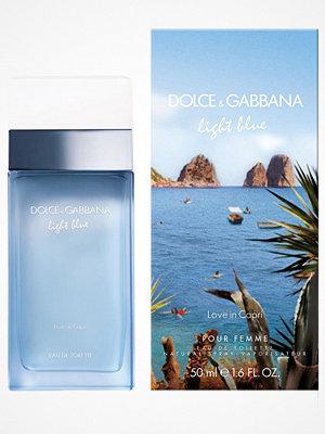 Parfym - Dolce & Gabbana Light Blue Love in Capri Edt 50 ml Transparent