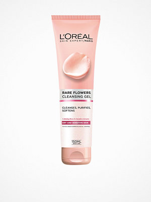 Ansikte - L'Oréal Paris Rare Flowers Cleansing Gel 150 ml Transparent