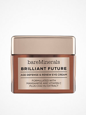 Ansikte - bareMinerals Brilliant Future Age Defense & Renew Eye Cream Transparent