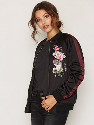 Miss Selfridge Embroided Bomber Jacket