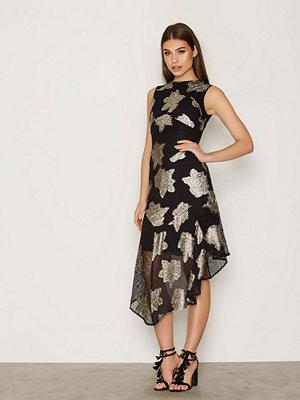 Topshop Hanky Hem Lace Midi Dress