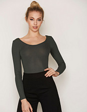 Topshop Low Bow Back Body
