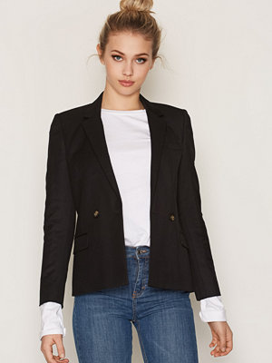 Topshop Tailored Suit Jacket Black