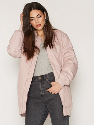 NLY Trend Perfect Long Bomber Ljus Rosa