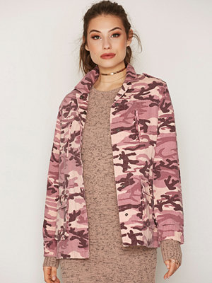 NLY Trend Field Jacket Rosa