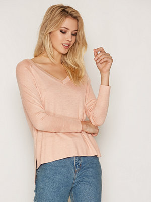 Only onlPHILU L/S V-Neck Pullover Knt No Ljus Rosa