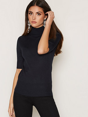 Vila VITOBI 1/2 SLEEVE RIB KNIT TOP