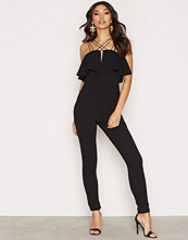 Rare London Multi Strap Jumpsuit