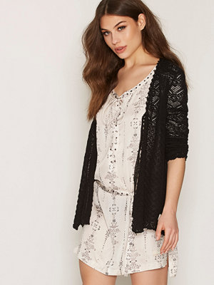 Odd Molly Seize The Day Cardigan Almost Black