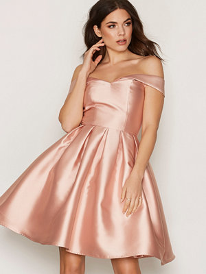 Chi Chi London Jade Dress Rose Gold