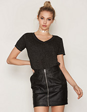 Maison Scotch Burn Out Tee V-neck