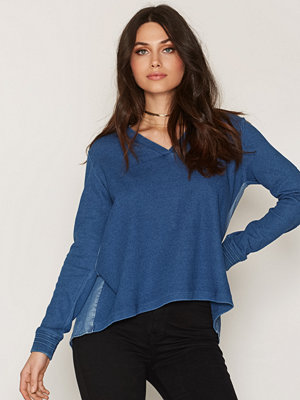 Maison Scotch Soft Sweat Denim Back Blue