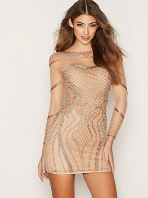 Forever Unique Frankie Dress Rose Gold