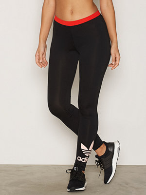 Leggings & tights - Adidas Originals Trefoil Legging Svart