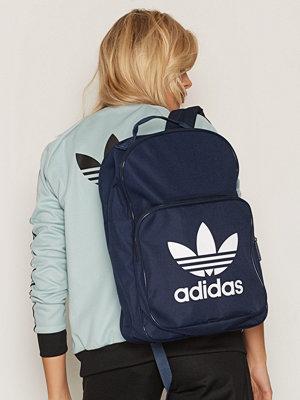 Adidas Originals ryggsäck med tryck BP Clas Trefoil Blå