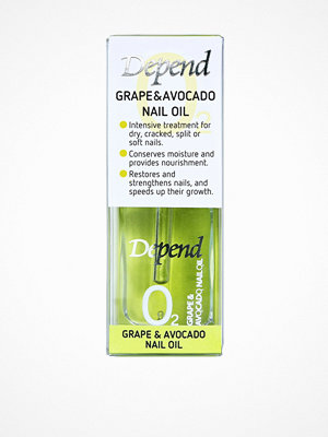 Depend Grape & Avocado Nail Oil 11 ml Transparent
