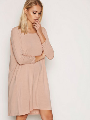 Elvine Dagny Crepe Jersey Dress Rose