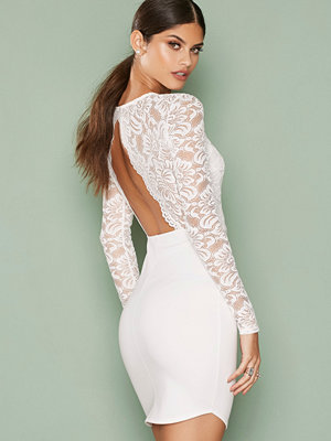 NLY One Scallop Open Back Bodycon