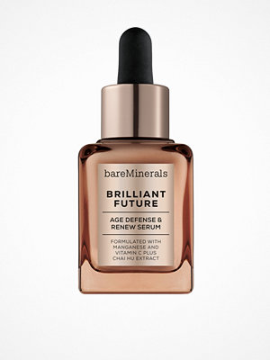 Ansikte - bareMinerals Brilliant Future Age Defense and Renew Serum Transparent
