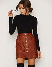 Kjolar - MICHAEL Michael Kors Button Front Skirt