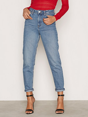 Topshop Mid Denim Mom Jeans