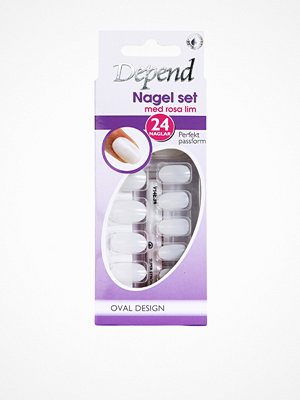 Depend Nail Kit - Oval Design Lila