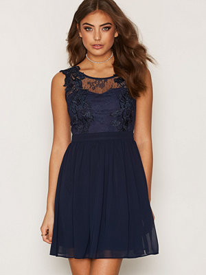 NLY One Lace Cover Dress Navy