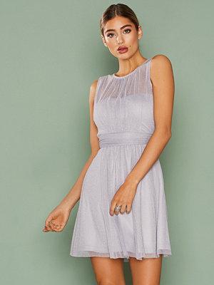 NLY One Shimmery Goddess Dress Light Blue